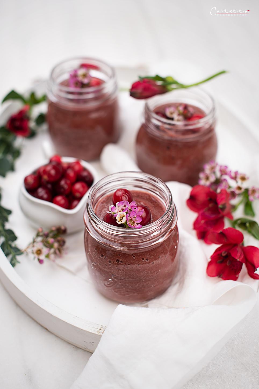 Cranberry-Birnen-Smoothie