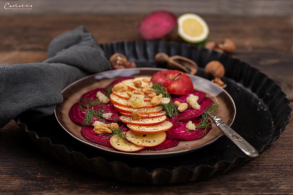 Rote Rueben Apfel Salat Ernährung KOTOSPORT