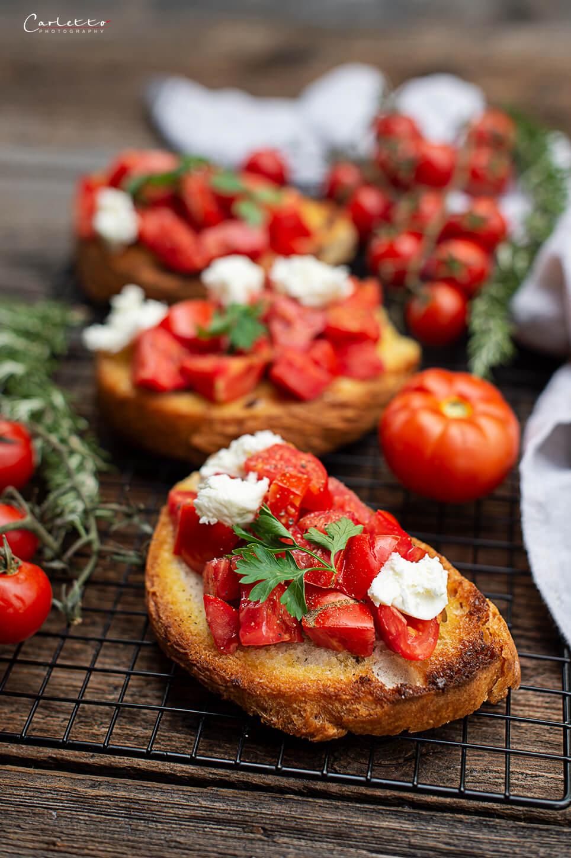 Klassische Tomatenbruschetta Kotosport
