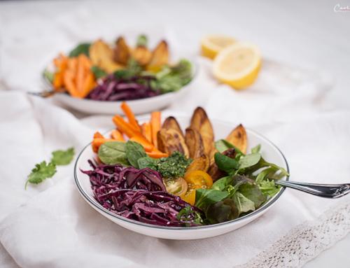 Superfood Bowl mit Kartoffeln