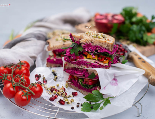 "Superfood Sandwiches mit ""Sprossen & Microgreens"""