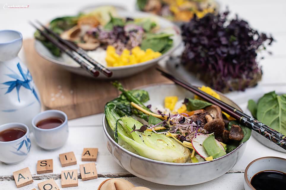 Asia-Gemüse-Bowl